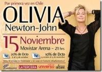 Olivia Newton-John en Chile.
